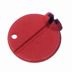 Asista Nippelspanner Spokey 3,25 mm Farbe rot
