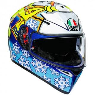 AGV K3 SV Rossi Winter Test 2016 Integralhelm