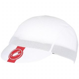 Castelli A/C Cycling Cap weiß, Größe uni