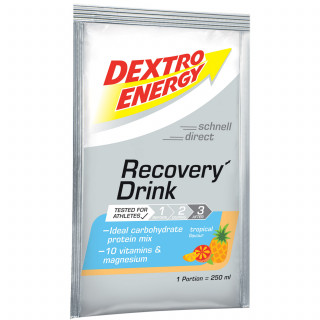 Dextro Energy Recovery Drink Eiweißpulver (44,5 g) Tropical