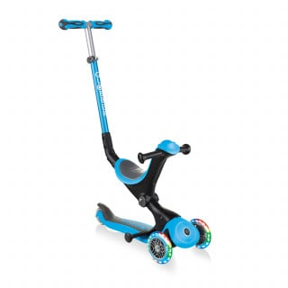 Globber Go Up Deluxe Lights Scooter