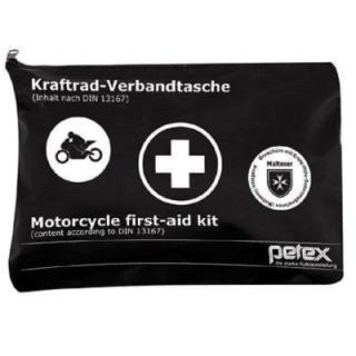 Petex Motorrad-Verbandtasche schwarz