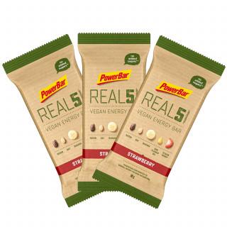 Powerbar REAL5 Vegan Energy-Riegel 3er-Set (3 x 65 g)