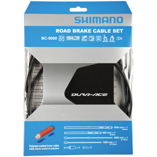 Shimano Dura-Ace BC-9000 Road Bremszug-Set polymerbeschichtet