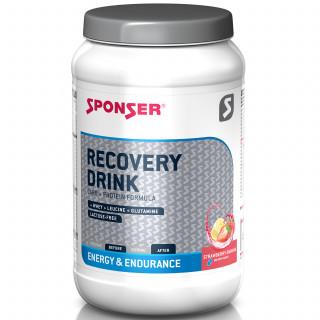 Sponser Recovery Drink Kohlenhydrat-Protein-Getränk Dose (1200 g) Strawberry-Banana