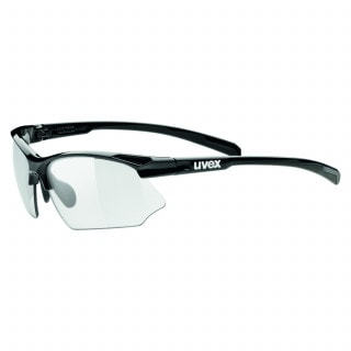Uvex Sportstyle 802 V Variomatic Fahrradbrille schwarz, Größe uni