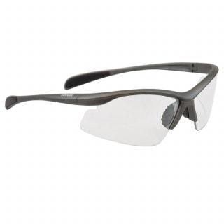 Uvex Dynamics Lite II Radbrille anthrazit, Gläser clear