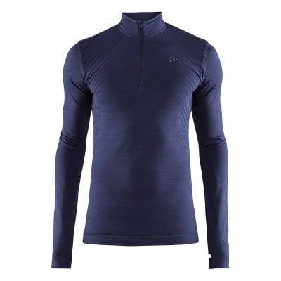 Craft Fuseknit Comfort Zip Langarmshirt