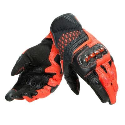 Dainese Carbon 3 Short Lederhandschuhe