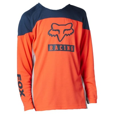 Fox Defend Youth LS Radshirt langarm Kinder