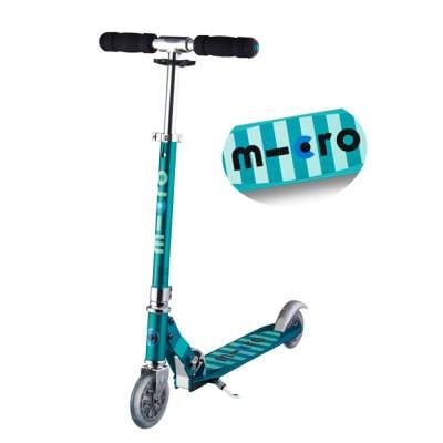 Micro Scooter Sprite mit Streifen
