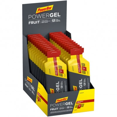 Powerbar Powergel Fruit Energy-Gel Box ( 24 x 41 g)
