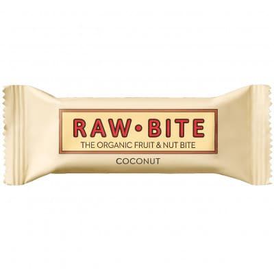 Raw Bite The Organic Fruit Nut Bite Energieriegel vegan (50 g)