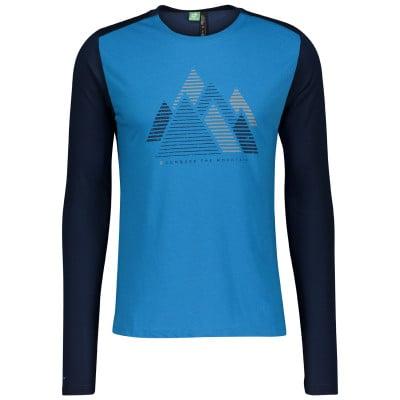 Scott Defined Dri Graphic L/SL Rad Shirt langarm Herren