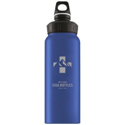 SIGG WMB Mountain Dark Blue Touch Fahrrad-Trinkflasche (1 l)