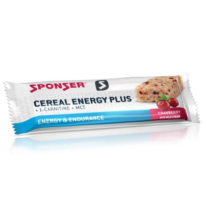 Sponser Cereal Energy Plus Energieriegel (40 g)
