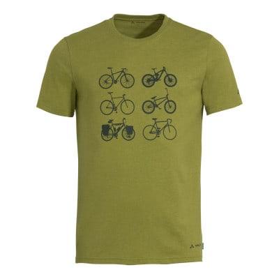 Vaude Cyclist V Rad Shirt kurzarm Herren